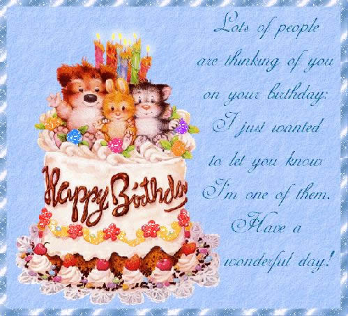 birthday cake with message picture ; 96d5a32bd0761cf44f6bb6017372b23e