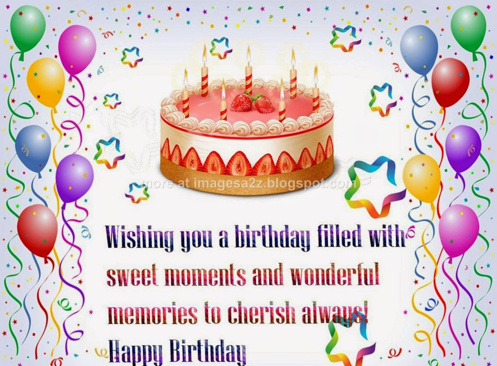birthday cake with message picture ; Birthday-Cake-For-Friend-With-Message-4