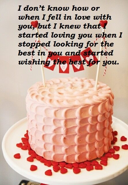 birthday cake with message picture ; Happy-Birthday-Cake-Wishes-Message-For-Lover