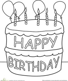 birthday cakes to colour in sheets ; e7a15eff62aa9b51ae84e2456ef57e49--happy-birthday-crafts-preschool-birthday