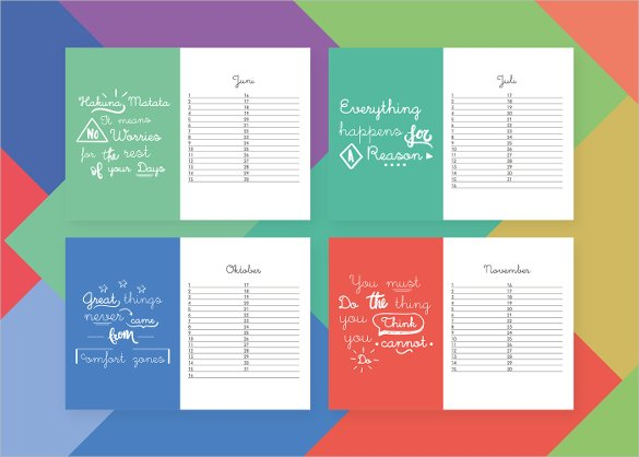 birthday calendar design templates ; Free-Birthday-Calendar-Design1