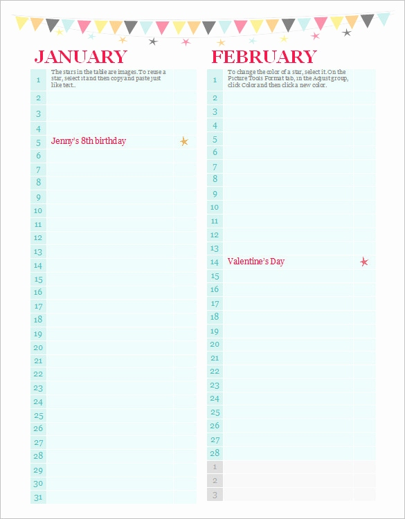 birthday calendar design templates ; birthday-calendar-template-best-of-40-microsoft-calendar-templates-free-word-excel-documents-of-birthday-calendar-template