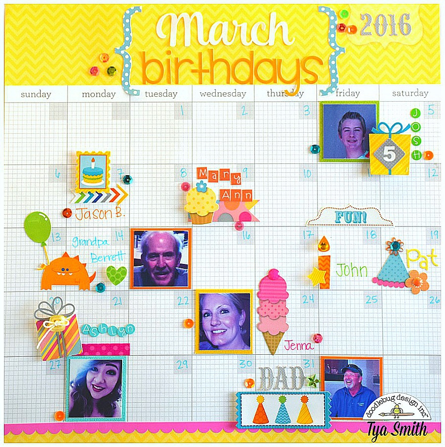 birthday calendar design templates ; birthday-reminder-calendar-calendar-2017-template