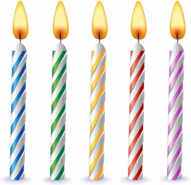 birthday candle clipart ; 791318