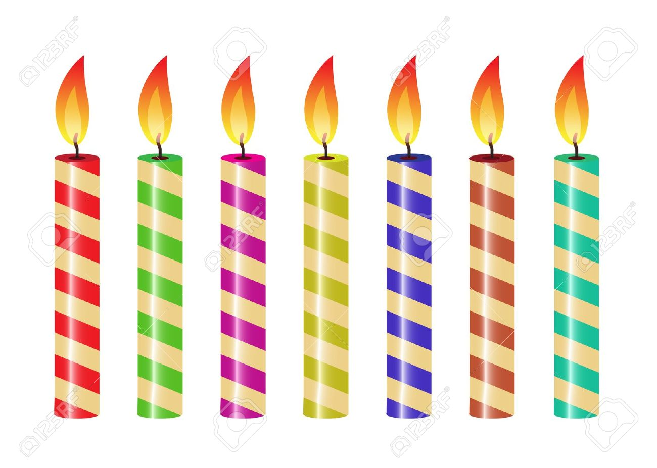 birthday candle clipart ; birthday-candle-clipart-free-13