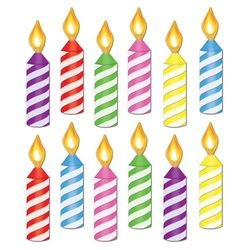 birthday candle clipart ; melting-candle-clipart-single-birthday-candle-1