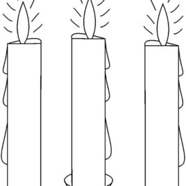 birthday candle coloring page ; birthday-candle-coloring-page-candle-coloring-page-captiv-co-coloring-page-of-candle-268x268