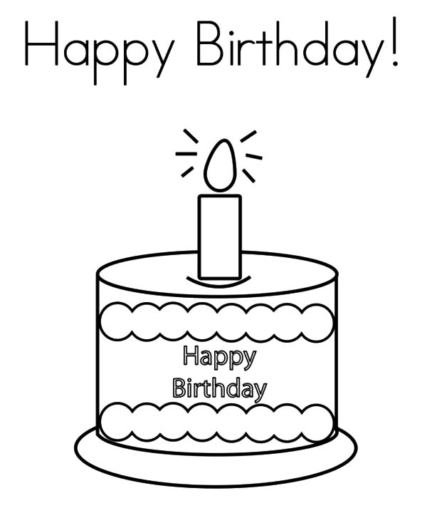 birthday candle drawing ; Kids-Drawing-Birthday-Candle-Coloring-Pages