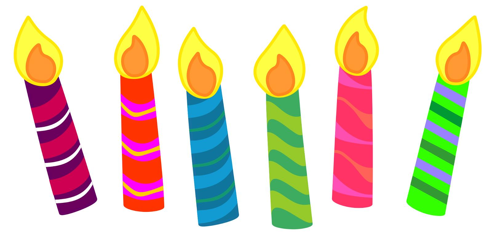 birthday candle drawing ; birthday-cakes-and-candles-clipart-11