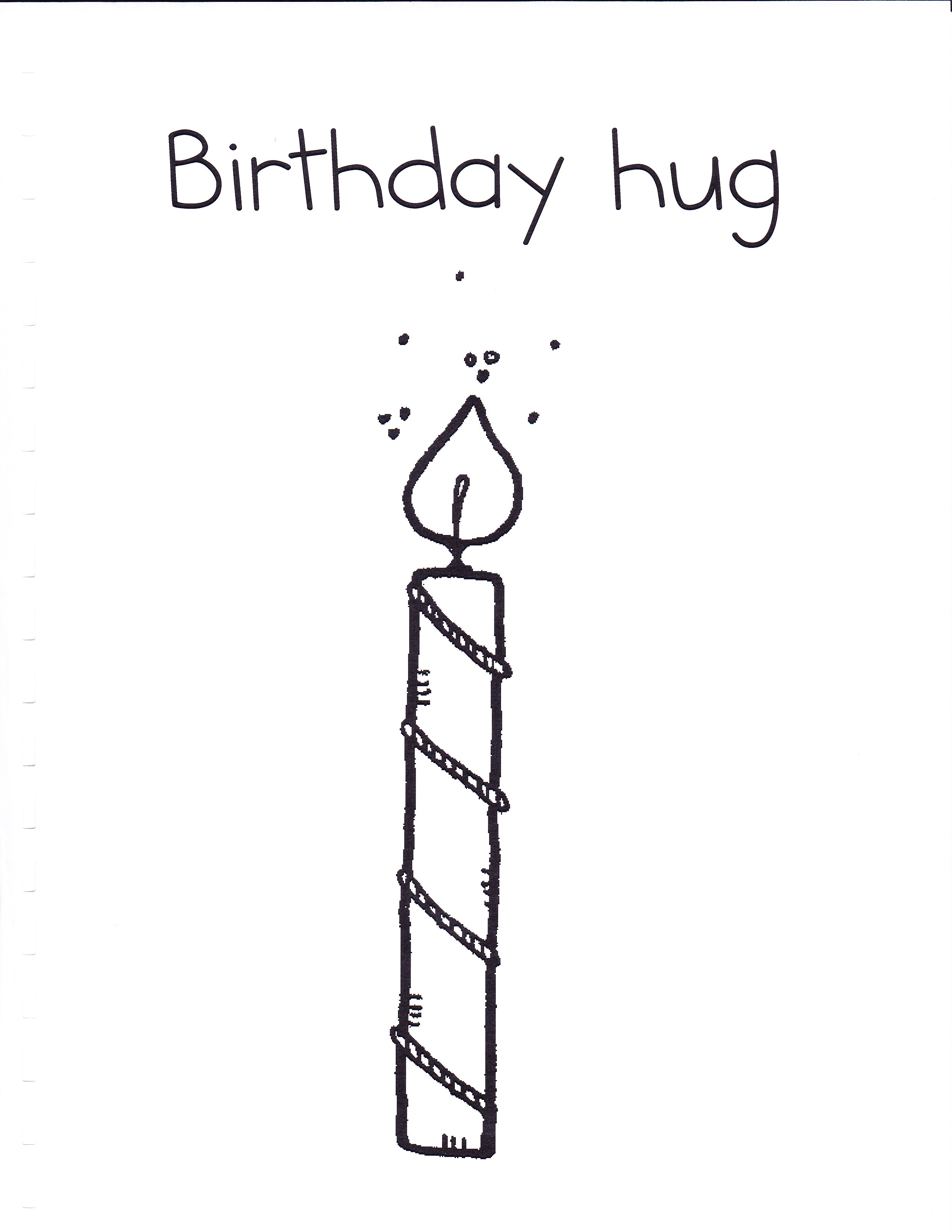 birthday candle drawing ; handshakes_0010