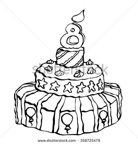 birthday candle drawing ; stock-photo-ink-drawing-of-a-birthday-candle-on-top-for-an-year-old-child-358725479
