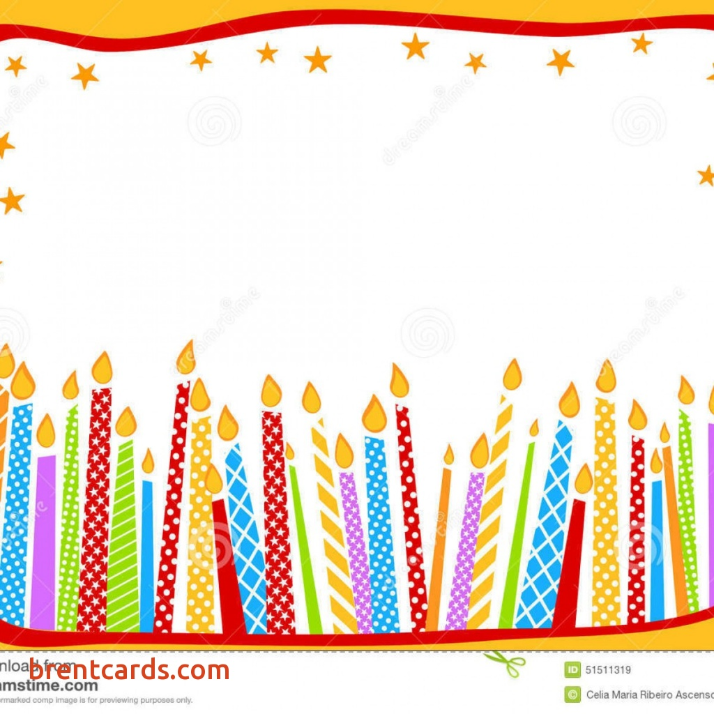 birthday card borders ; birthday-card-borders-unique-birthday-card-with-candles-stock-illustration-image-of-birthday-card-borders