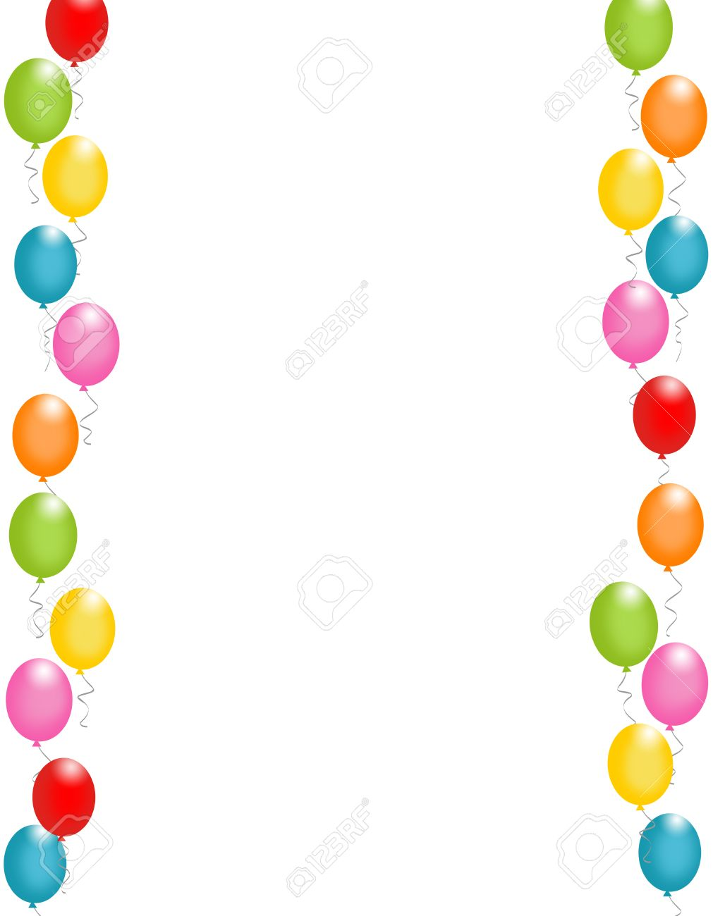 birthday card borders free ; 38747998-colorful-balloons-border-frame-illustration-for-birthday-cards-and-party-backgrounds