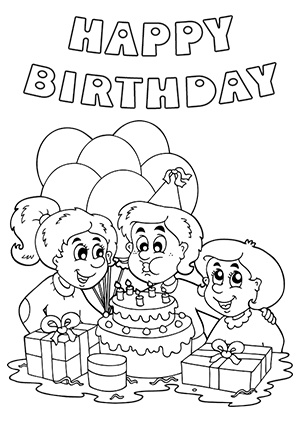 birthday card clipart ; Birthday-black-and-white-cool-and-funny-printable-happy-birthday-card-clip-art-ideas