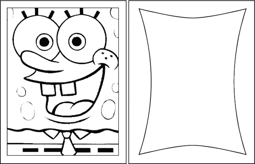 birthday card coloring sheet ; birthday-cards-blank-spongebob-coloring-pages-432930