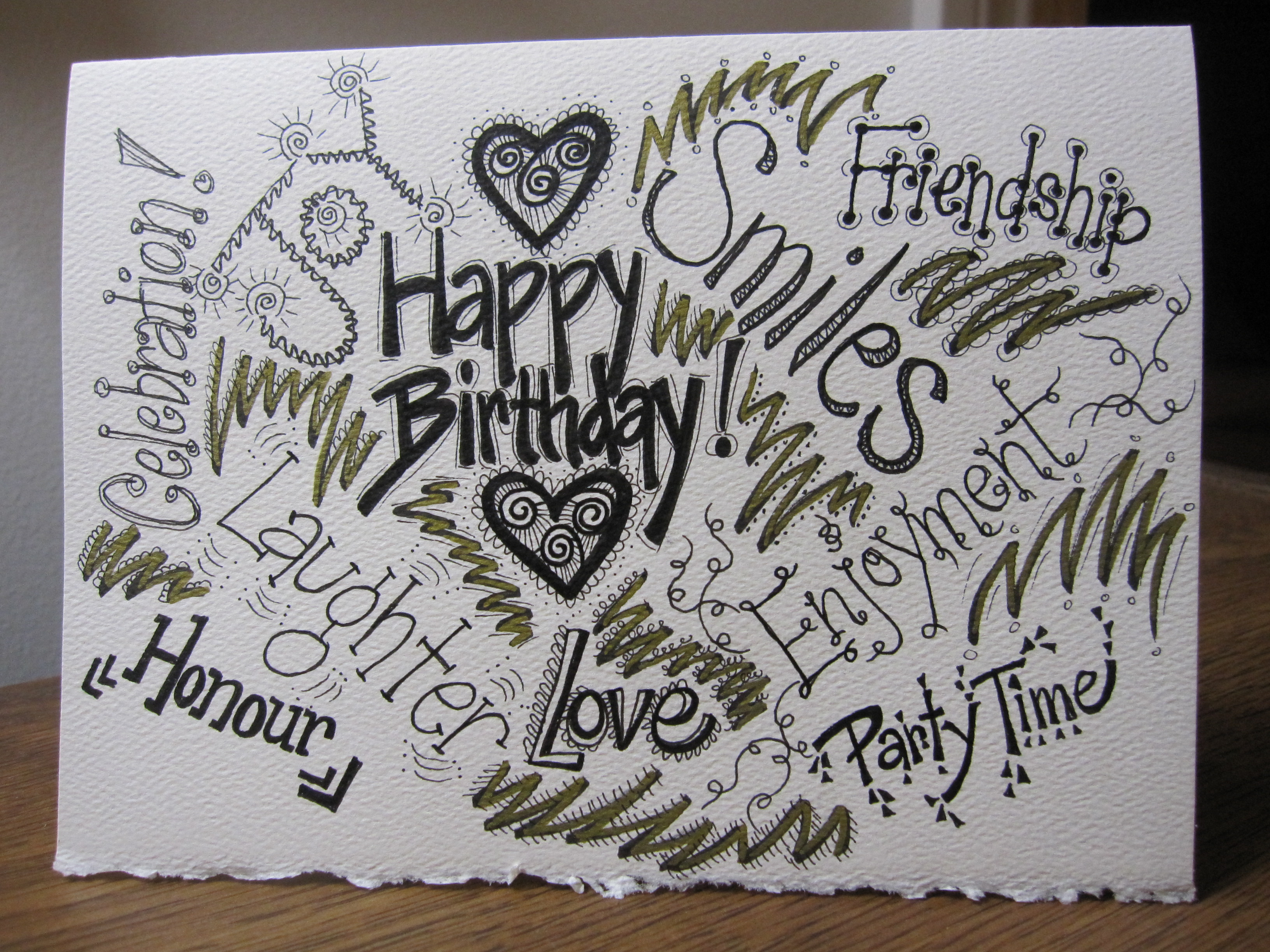 birthday card design drawing ; Drawings-On-Birthday-Cards-for-a-awesome-birthday-Card-design-with-awesome-layout-7