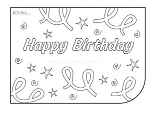 birthday card design template ; Birthday_generic_card