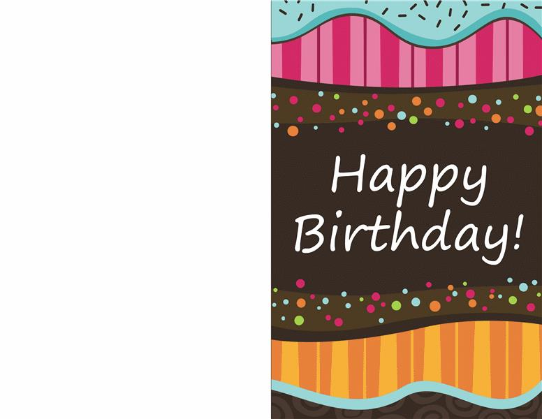 birthday card design template ; lt03108908