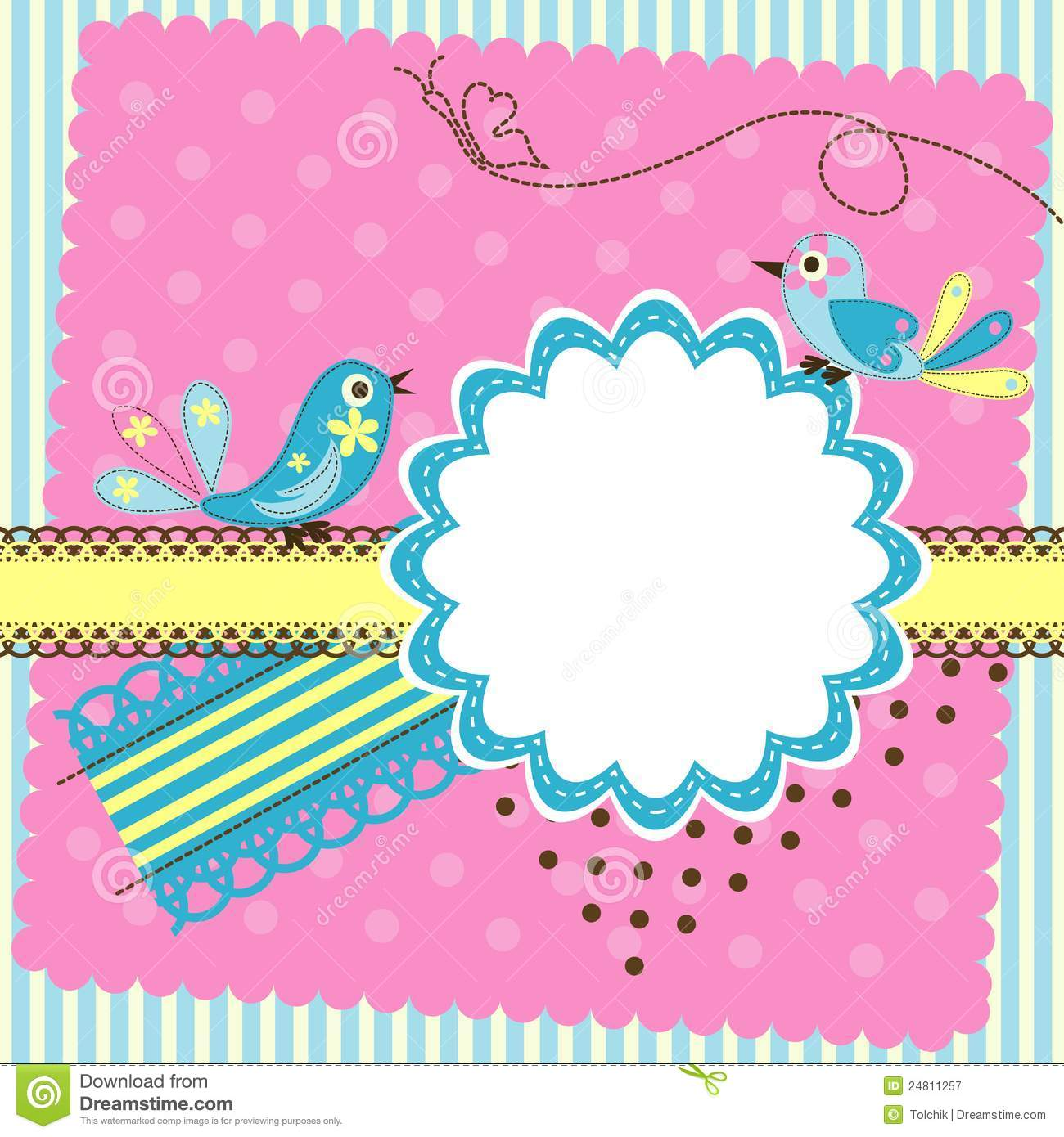 birthday card design template ; template-greeting-card-blue-birds-design-template-layout-with-pink-decoration-style-pattern-birthday-card-template-free