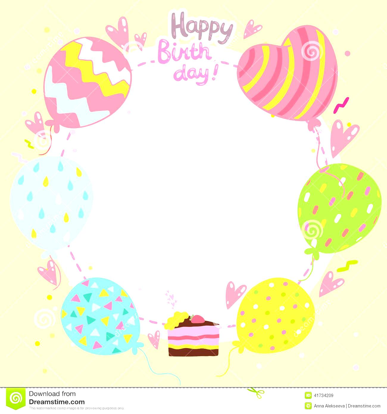 birthday card design template free ; birthday-card-word-templates-free-unique-shapes-balloons-with-cute-colored-pastel-decoration-cake-free-birthday-card-template