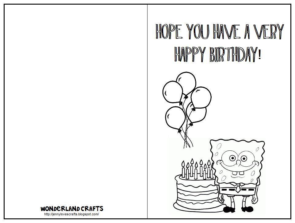 birthday card designs free printable ; birthday-card-templates-for-kids-free-images-to-print-out-print-out-cards-free-printable-birthday-moon-coloring-pages