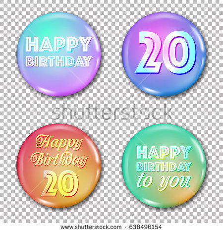 birthday card labels ; stock-vector--th-anniversary-icons-set-happy-birthday-labels-for-greeting-card-or-decoration-jubilee-years-638496154