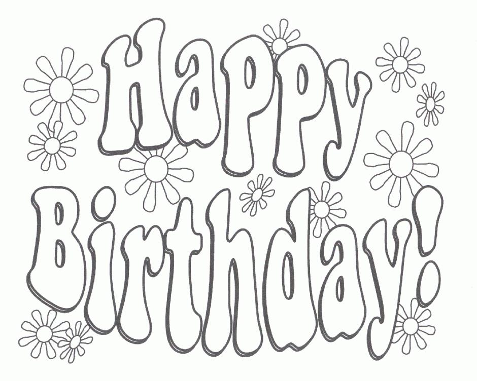 birthday card printable coloring page ; Fresh-Happy-Birthday-Card-Printable-Coloring-Pages-76-For-Your-Download-with-Happy-Birthday-Card-Printable-Coloring-Pages
