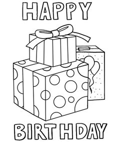 birthday card printable coloring page ; cards-on-pinterest-happy-birthday-coloring-pages-and-frozen