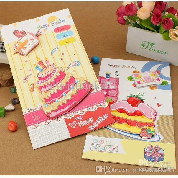 birthday card stickers ; birthday-card-brithday-cake-candle-8-patterns