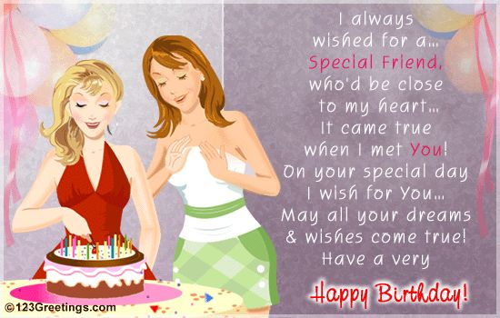 birthday card wishes for best friend girl ; Brilliant-Birthday-Image-With-Quote-For-Special-Friend