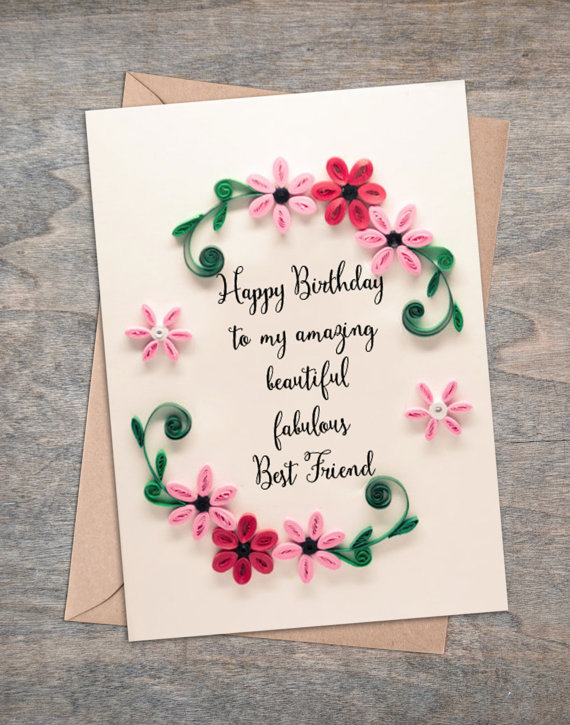 birthday card wishes for best friend girl ; il_570xN