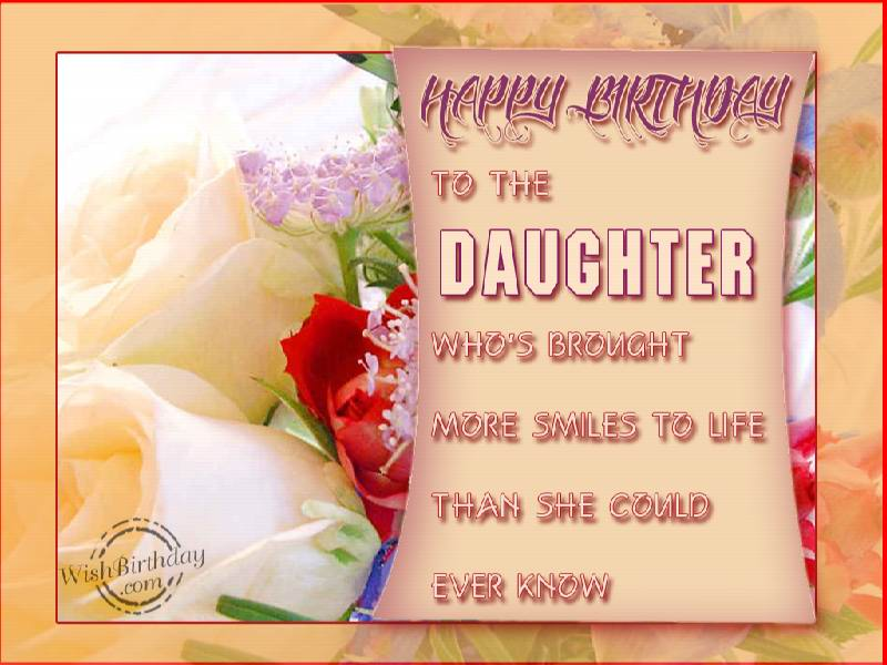 birthday card wishes for my daughter ; 0f27c5b15e67ed440c327c1d4de4623f