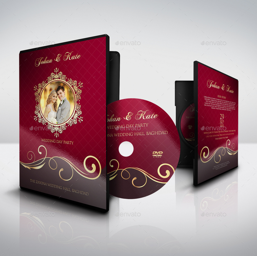 birthday cd label template ; 01_Wedding_DVD_Cover_and_Label_Template