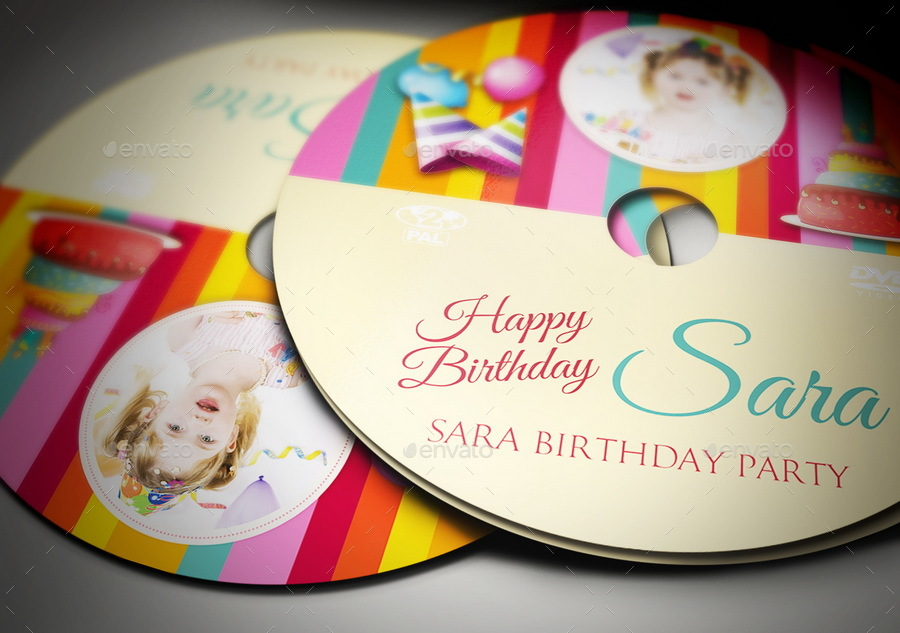 birthday cd label template ; 04_Birthday_Party_DVD_Cover_And_Label_Template