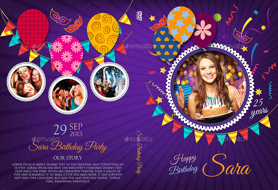 birthday cd label template ; 06_Birthday_Party_DVD_Cover_And_Label_Template