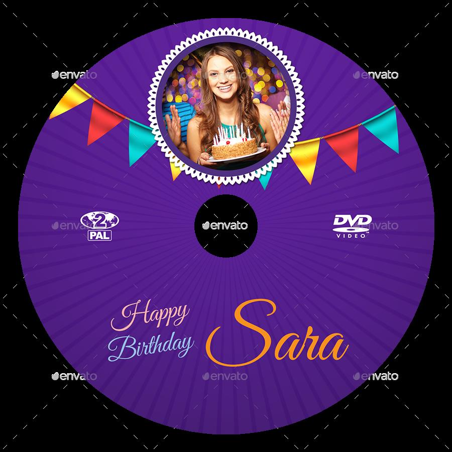 birthday cd label template ; 07_Birthday_Party_DVD_Cover_And_Label_Template