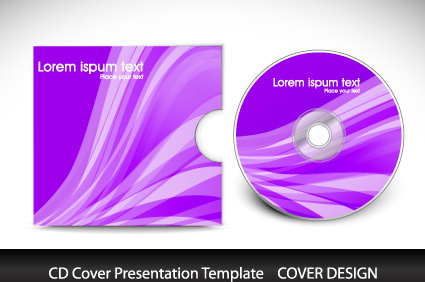 birthday cd label template ; cd_cover_presentation_vector_template_571605