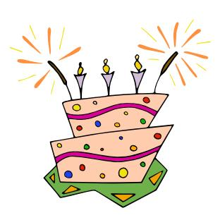 birthday celebration clipart ; 706568