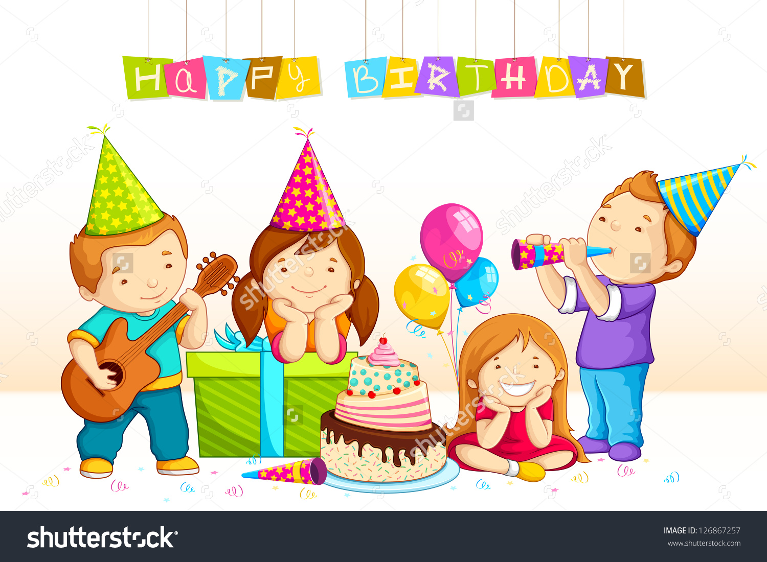 birthday celebration clipart ; birthday-kids-clipart-8