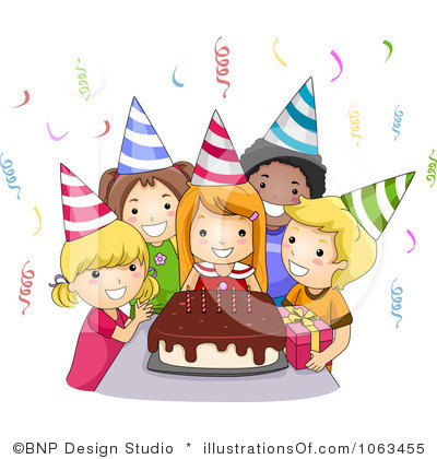 birthday celebration clipart ; birthdayparty
