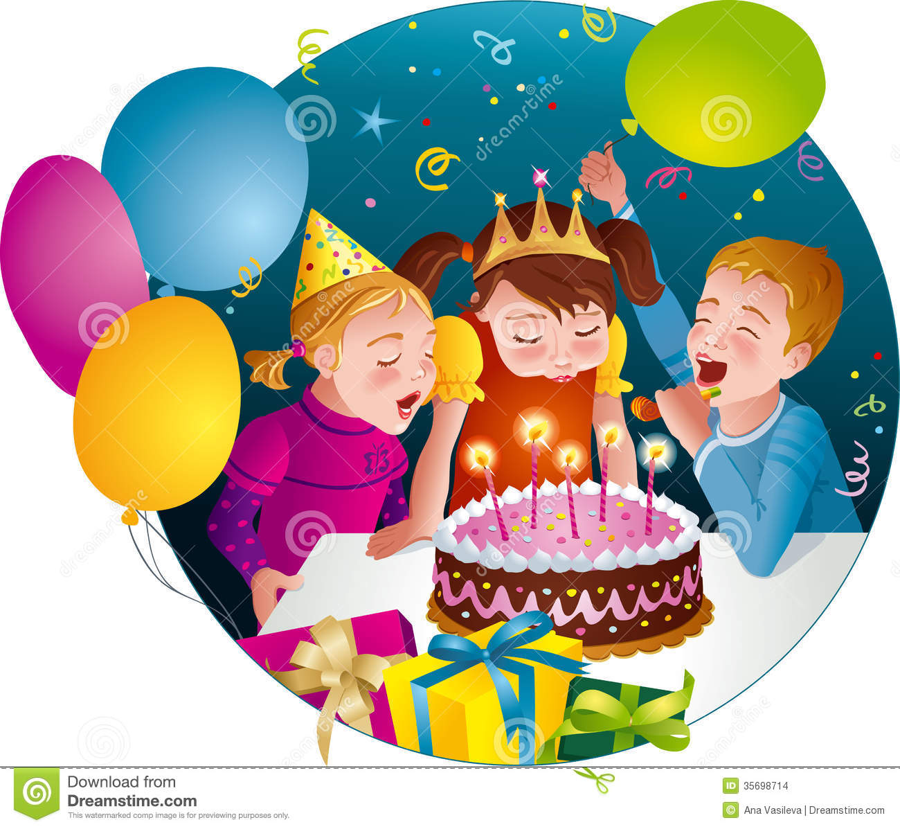 birthday celebration clipart ; frozen-clipart-child-birthday-17