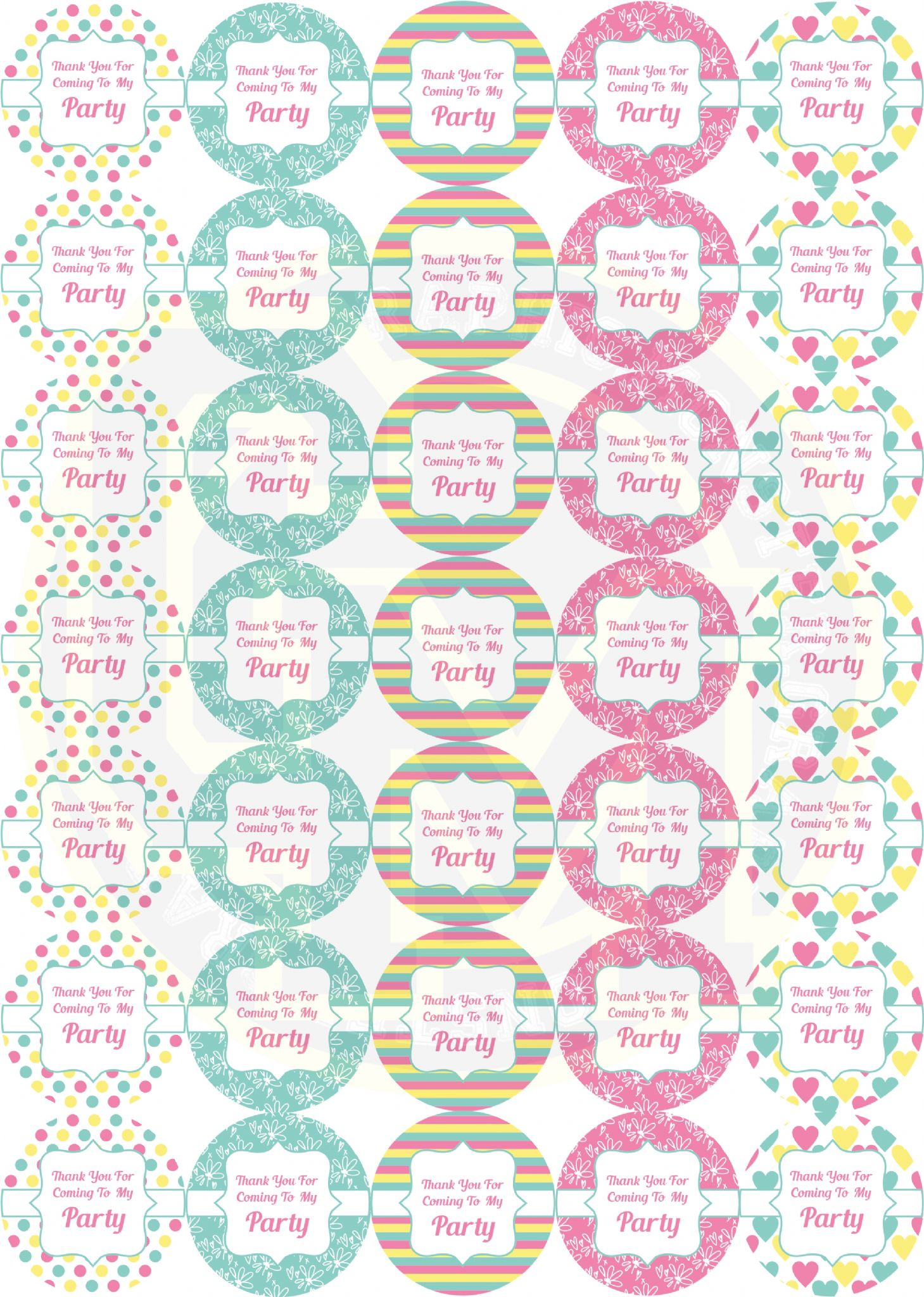 birthday celebration stickers ; pretty-birthday-party-stickers-sweet-cone-party-bag-labels-sticker-quantity-175-stickers-5-sheets-7950-p