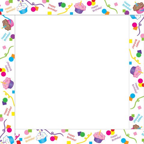 birthday clip art borders and frames ; cake-clipart-boarder-9