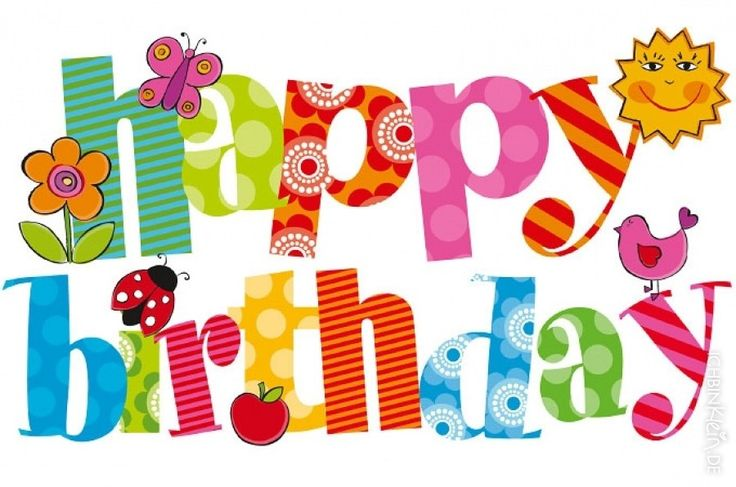 birthday clipart ; Happy-birthday-friend-clipart-3