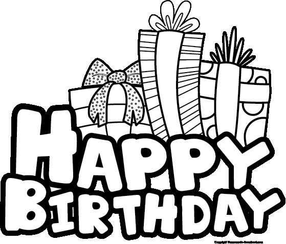 birthday clipart black and white ; Extraordinay-Black-And-White-Birthday-Clipart-18-In-Free-Clip-Art-with-Black-And-White-Birthday-Clipart