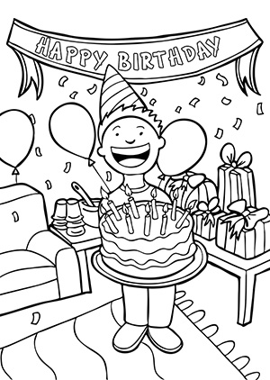 birthday clipart black and white ; Happy-birthday-black-and-white-and-white-birthday-clipart-2