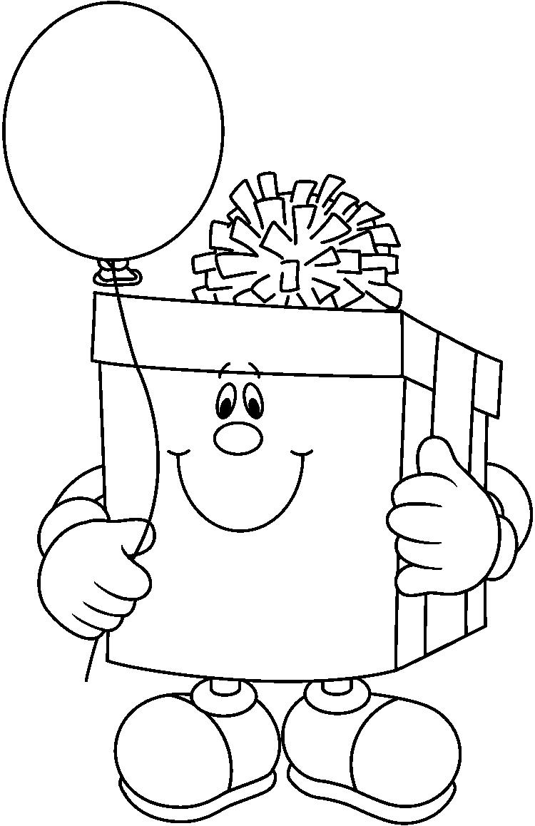 birthday clipart black and white ; birthday-black-and-white-clipart-1