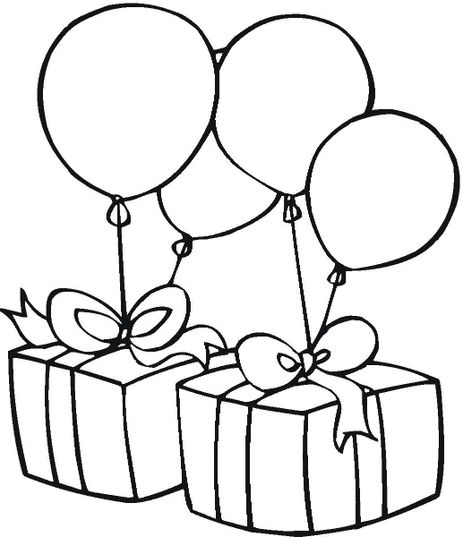 birthday clipart black and white ; birthday-clip-art-black-and-white-with-quotes--cake-for-happy--1