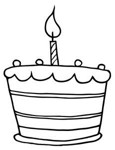 birthday clipart black and white ; spaghetti-clipart-black-and-white-birthday-cupcake-clip-art-black-and-white-119