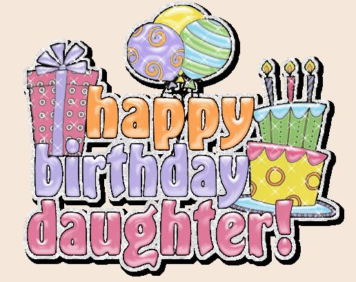 birthday clipart for daughter ; happy-birthday-daughter-clipart-1